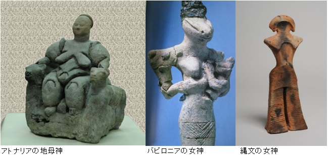 遺跡女神画像